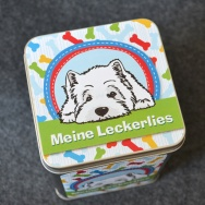 Westie Leckerlies - bunt