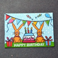 Happy Birthday - Bunny