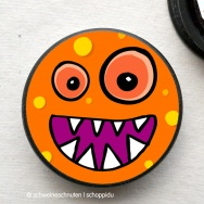 Magnet Bubble Monster orange