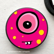 Magnet Bubble Monster pink