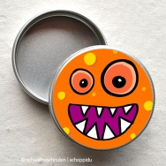 Minidose - Bubblemonster orange
