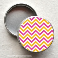 Minidose - Chevron orange-pink